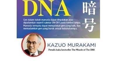 REVIEW BUKU MISTERI DNA KARYA KAZUO MURAKAMI …